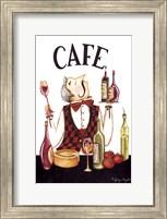 Waiter Cafe Fine Art Print