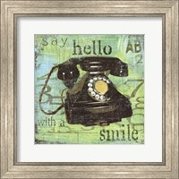 Hello With A Smile Fine Art Print