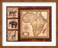 Journey To Africa I Fine Art Print