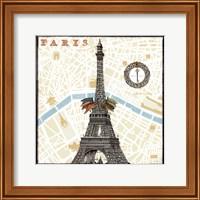Monuments des Paris Eiffel Fine Art Print