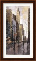 Rainy Day In Manhatten Fine Art Print