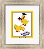 Ducks - Reading Fine Art Print