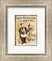 Drink Wine! Fine Art Print