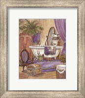 Victorian Bathroom I Fine Art Print