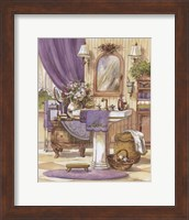Victorian Bathroom II Fine Art Print