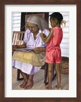 Grandma and Me Fine Art Print