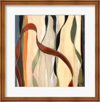 Falling Ribbons I Fine Art Print