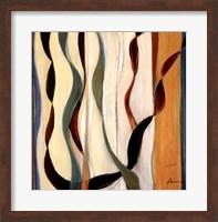 Falling Ribbons II Fine Art Print