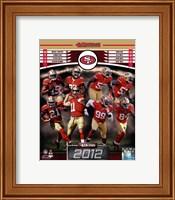 San Francisco 49ers 2012 Team Composite Fine Art Print
