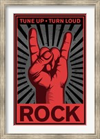 Tune Up, Turn Loud Wall Poster