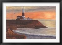 Montauk LH Sunset Fine Art Print