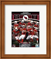 Arizona Cardinals 2012 Team Composite Fine Art Print