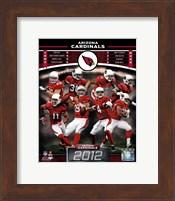 Arizona Cardinals 2012 Team Composite Fine Art Print