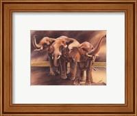 Family of Elephants Fine Art Print