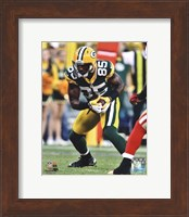Greg Jennings 2012 Action Fine Art Print