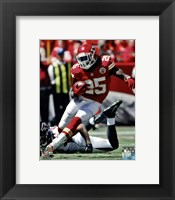 Jamaal Charles 2012 Action Fine Art Print
