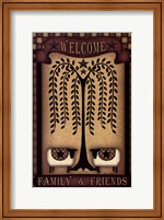 Welcome Family & Friends Fine Art Print