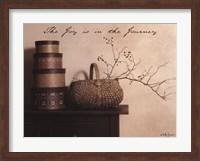 The Joy is the Journey Fine Art Print