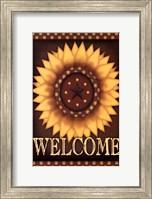 Sunflower Welcome Fine Art Print