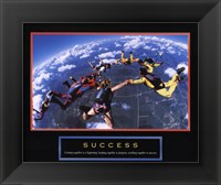 Success - Skydivers Fine Art Print