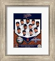 Detroit Tigers 2012 American League Champions Composite Fine Art Print
