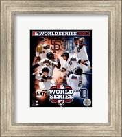 San Francisco Giants vs. Detroit Tigers World Series Match-up Composite Fine Art Print