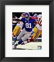 Justin Tuck 2012 Action Fine Art Print