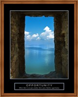 Opportunity - Wall Fine Art Print