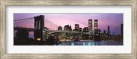 Brooklyn Bridge and New York City Skyline Fine Art Print