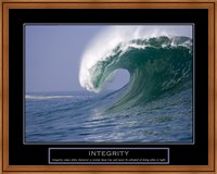 Integrity - Wave Fine Art Print