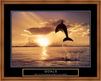 Goals - Dolphins Fine Art Print