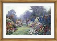 A Summer Garden Fine Art Print