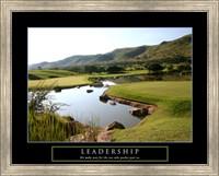 Leadership-Golf Fine Art Print