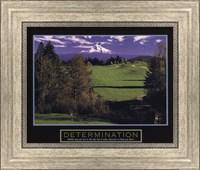 Determination-Golf Fine Art Print
