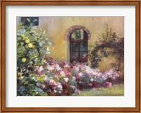 Tuscan Lemons And Pink Fine Art Print