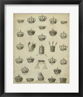 Heraldic Crowns & Coronets II Fine Art Print