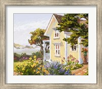 Victorian Seaside Haven Fine Art Print