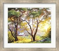 Burnished Landscape Fine Art Print