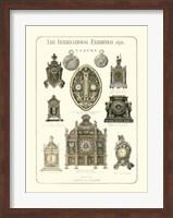 Clocks 1876 Fine Art Print