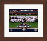 The Detroit Tigers 2012 American League Champions Team Photo Fine Art Print
