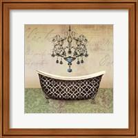French Vintage Bath I Fine Art Print