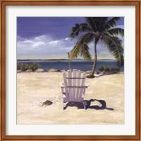 Beach Chair Fine Art Print