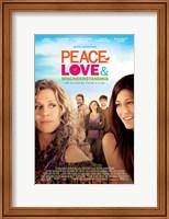 Peace, Love & Misunderstanding Wall Poster
