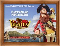 The Pirates! Band of Misfits Wall Poster