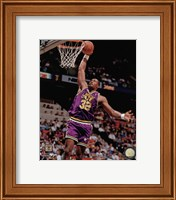 Karl Malone 1990 Action Fine Art Print