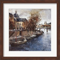 Ile de la Cite, Paris Fine Art Print