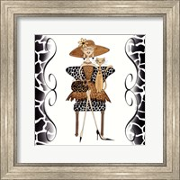 Fancy Feline Gal Fine Art Print
