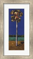 HEALING PALM- BLUE Fine Art Print