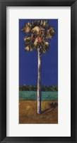 HEALING PALM- BLUE Fine Art Print