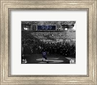 Ray Lewis pre-game introduction final game in Baltimore 2012 Playoff Spotlight Fine Art Print